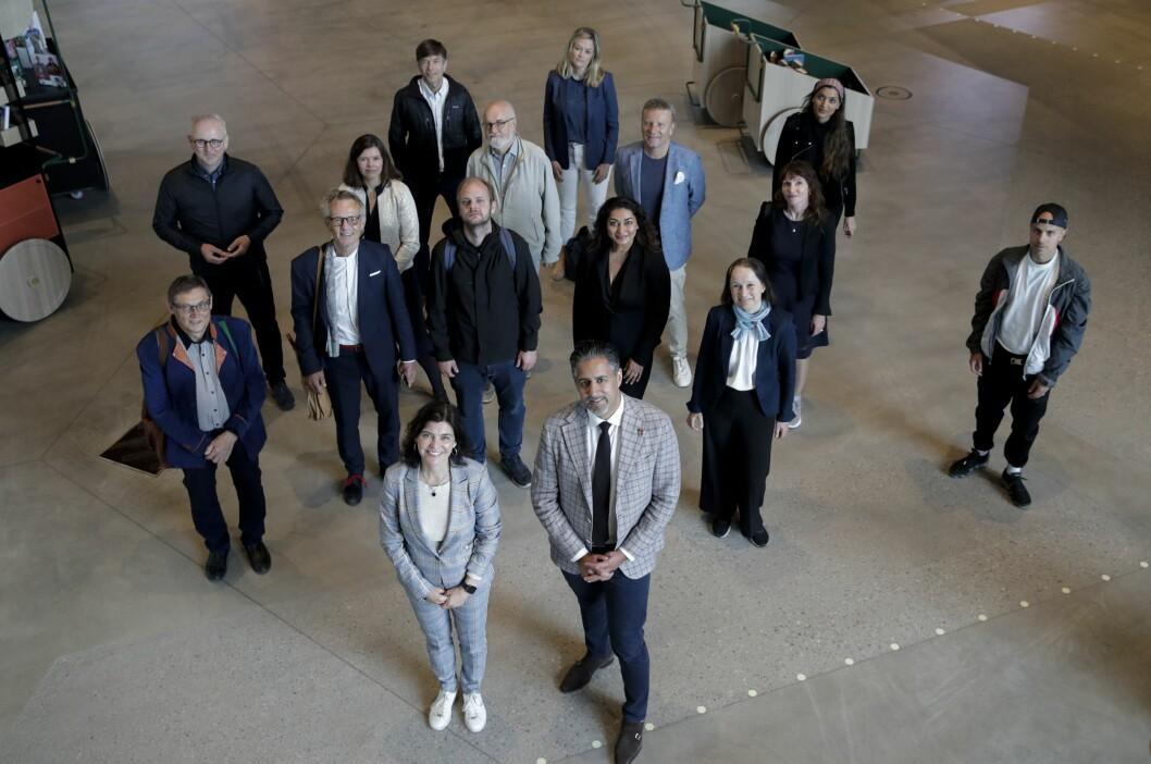 Ytringsfrihetskommisjonen hadde sitt første møte på Deichman i Bjørvika i begynnelsen av juni.