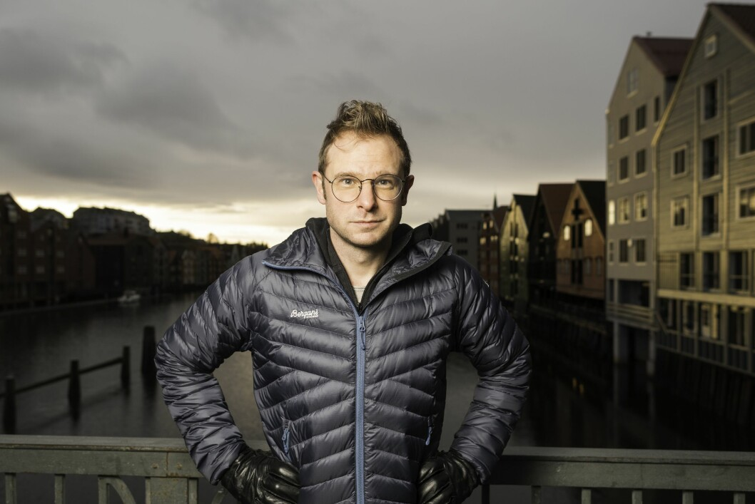 Snorre Valen, politisk redaktør i Nidaros
