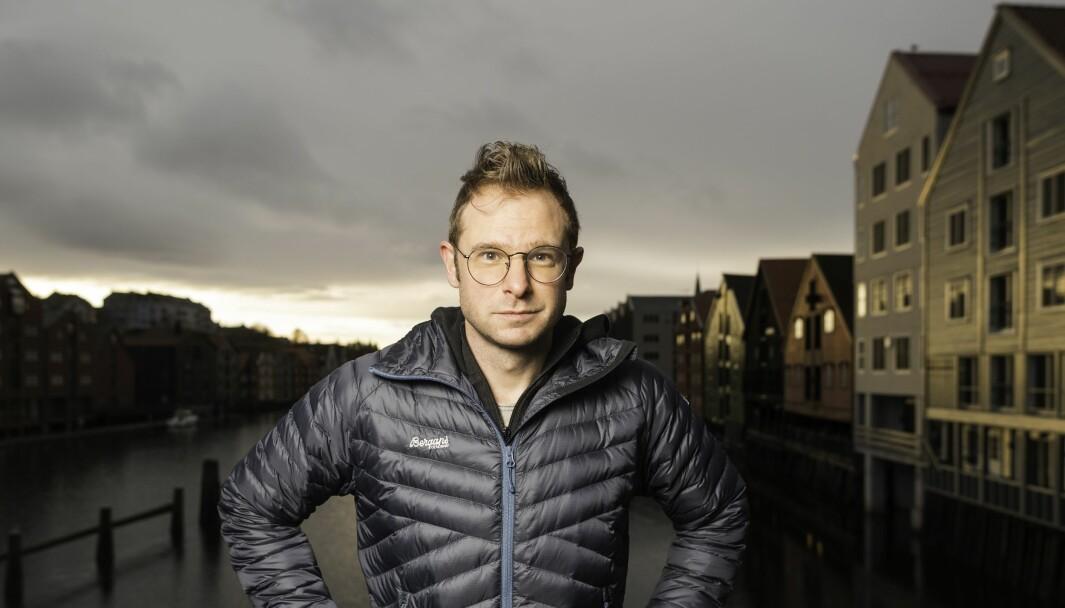 Snorre Valen, ansvarlig redaktør i Trønderdebatt.