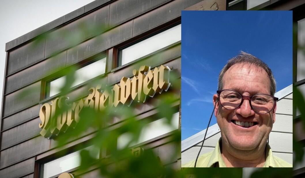 Torsten Hanssen hadde tirsdag sin siste dag i Adresseavisen.