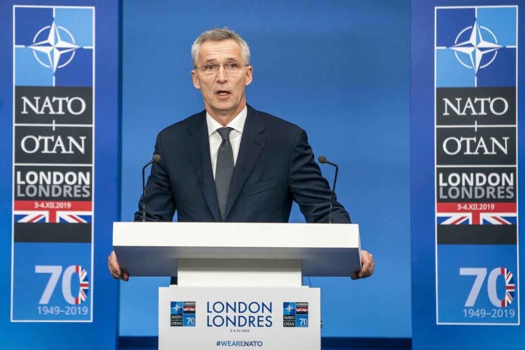 Generalsekretær i NATO, Jens Stoltenberg.