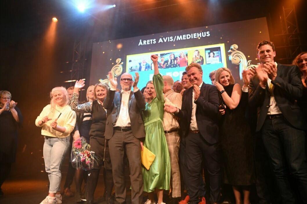 NRK stakk av med prisen for «Årets mediehus» i fjor.