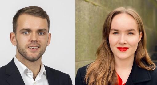 Sommervikarene Erlend (23) og Hege (22) danket ut 200 søkere - blir praktikanter hos Schibsted