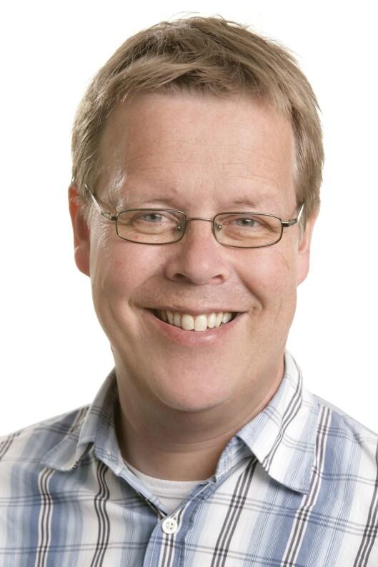 NRKs TV-sjef, Arne Helsingen.