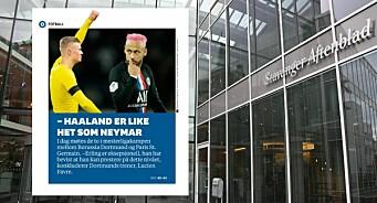 PFU kritiserer Stavanger Aftenblad for bruken av fotballstjerne-montasje