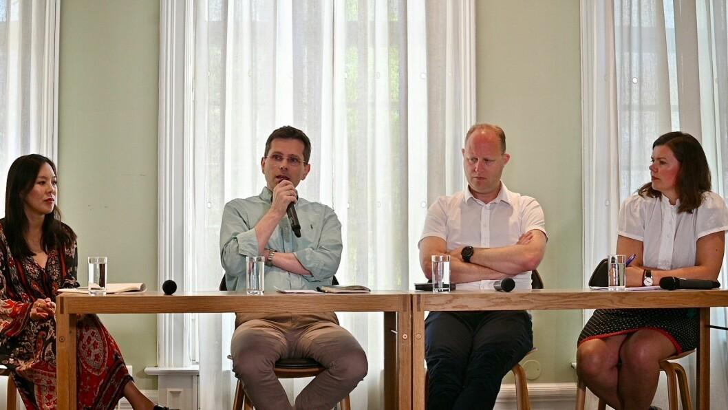 Hvordan skal mediene få flere til å betale for journalistikken sin?Det var blant annet blant temaene da Sun Heidi Sæbø, Bjørn Wisted, Tomas Bruvik og Bente Kalsnes møttes til paneldebatt, torsdag morgen.