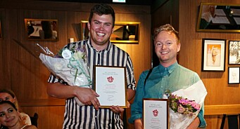 VGTV-duoen Stig Øystein og Espen fikk gjev nynorskpris