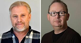 Rune (51) og Trond (45) er HAs nye nyhetsredaktør og debattredaktør