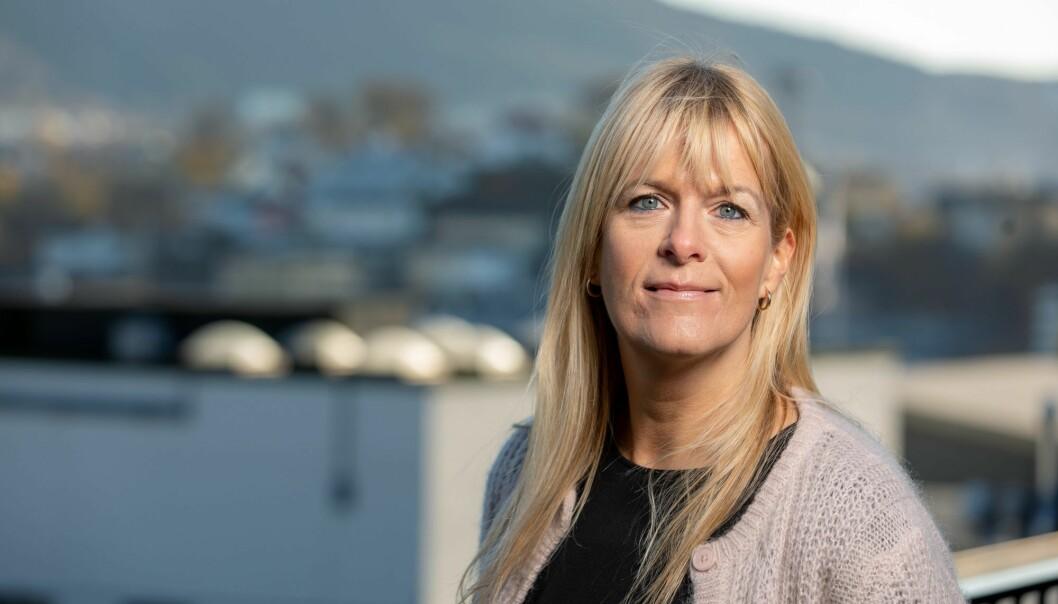 Programredaktør Kathrine Haldorsen i TV2. Foto: