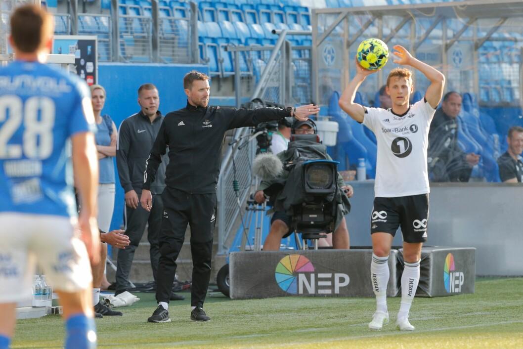 Rosenborg og trener Eirik Horneland tapte 1-0 for Molde  lørdag. Avisen Nidaros fikk ikke akkreditering til kampen på Aker Stadion.