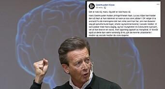 Ansatte i Geelmuyden Kiese ut mot egen sjef på Facebook: – Det er nok nå, Hans