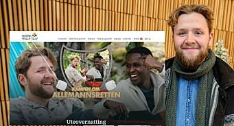 NRK-profil stilte i kampanje for organisasjon: No tek kanalen sjølvkritikk