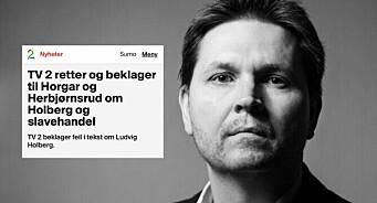 TV 2 beklaget faktafeil - blir hyllet: – Dette gir håp for norske medier