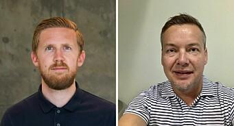 Hamar Arbeiderblad ansetter Asgeir Høimoen (29) og Jo Espen Brenden (46)