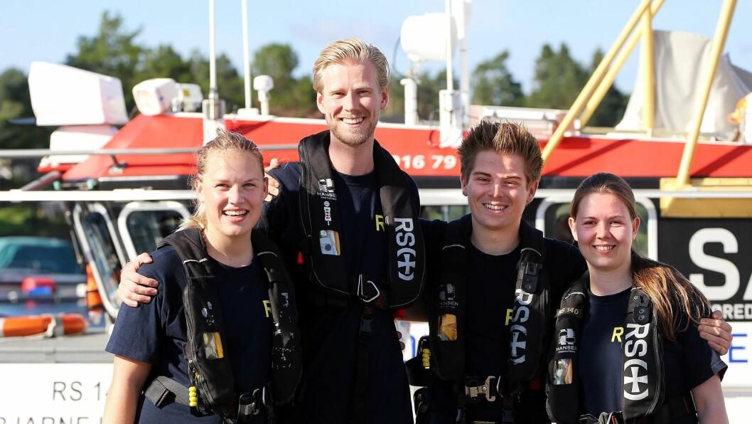 Redningsselskapet og PR-byåret JPC PRAD har utviklet en kampanje som skal lære unge om sikkerhet på sjøen. (Foto: Redningsselskapet)
