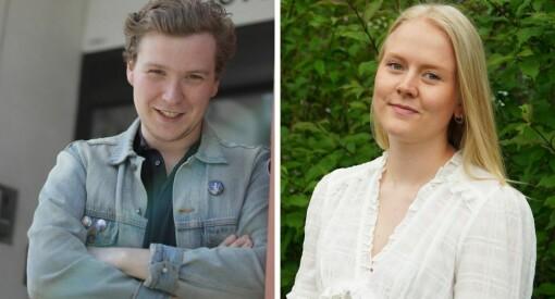 Øystein (23) og Frida (23) anbefaler å flytte til Nord-Norge: – Det har alle unge journalister godt av