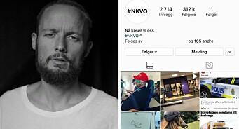 En av Norges største humorkontoer er i trøbbel: Hevder Instagram truer med sletting