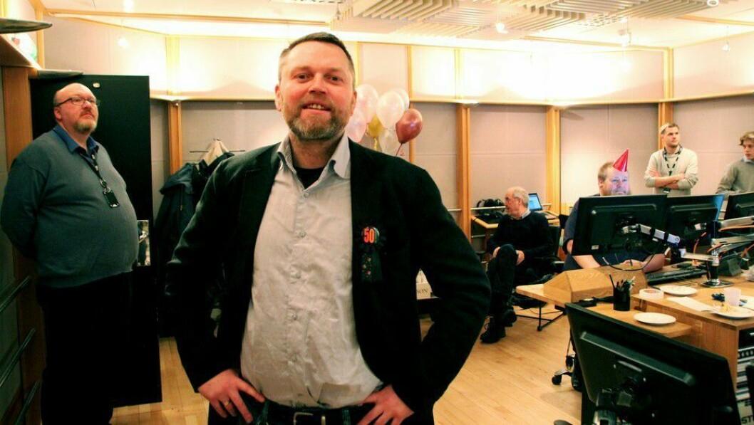 Redaksjonssjef Rune Lind i NRK Underholdning