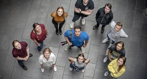 Disse elleve er årets sommervikarer i Sunnmørsposten