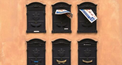 Avisleveringen sto i fare for mange tusen abonnenter. Så tok departementet grep