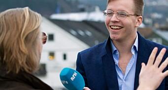 Hans Ivar (25) er ny journalist hos NRK Trøndelag: –Helt utrolig