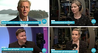 Disse brukes mest på Dagsnytt 18: – Det er min favorittflate i NRK