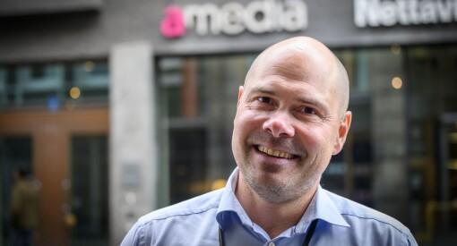 Amedia gjør store endringer i konsernledelsen - skal ansette tre nye direktører