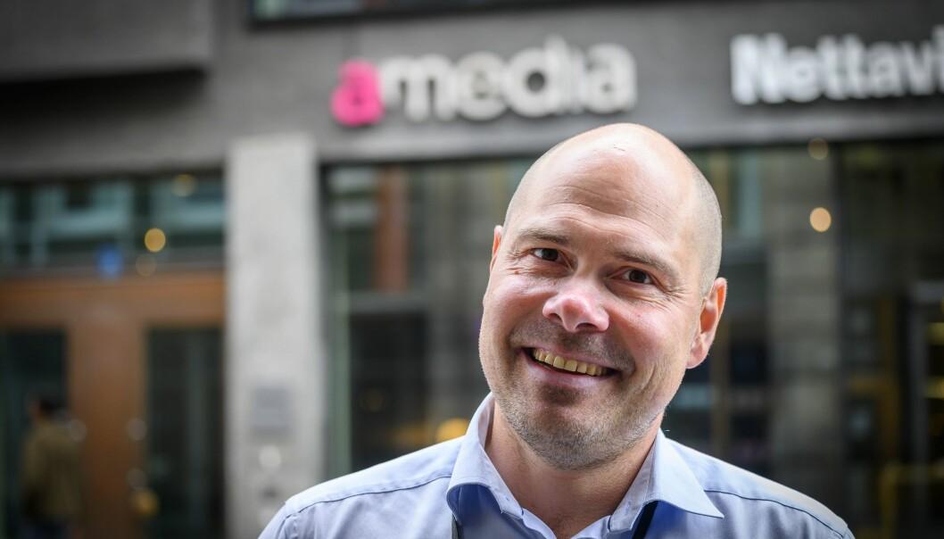 Konsernsjef Anders Opdahl i Amedia skal være nær et oppkjøp av Tun Media.