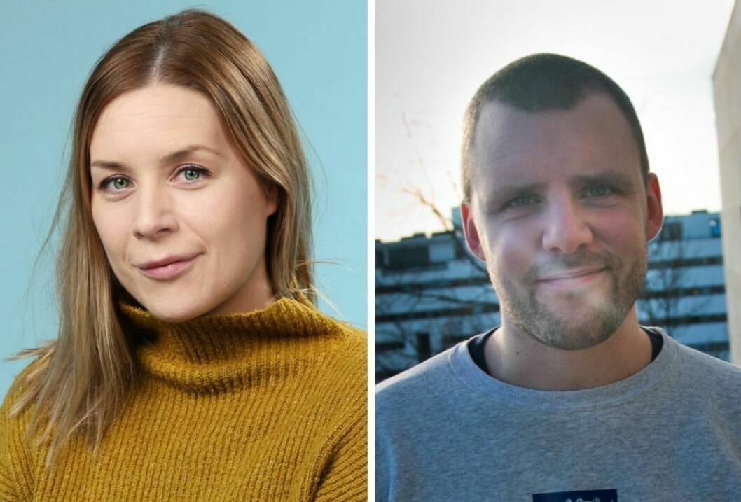 Camilla Bjørn og Daniel Ramberg i NRK P3.