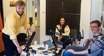 Sommervikarene fikk frie tøyler i studio: – Skremmende og veldig gøy