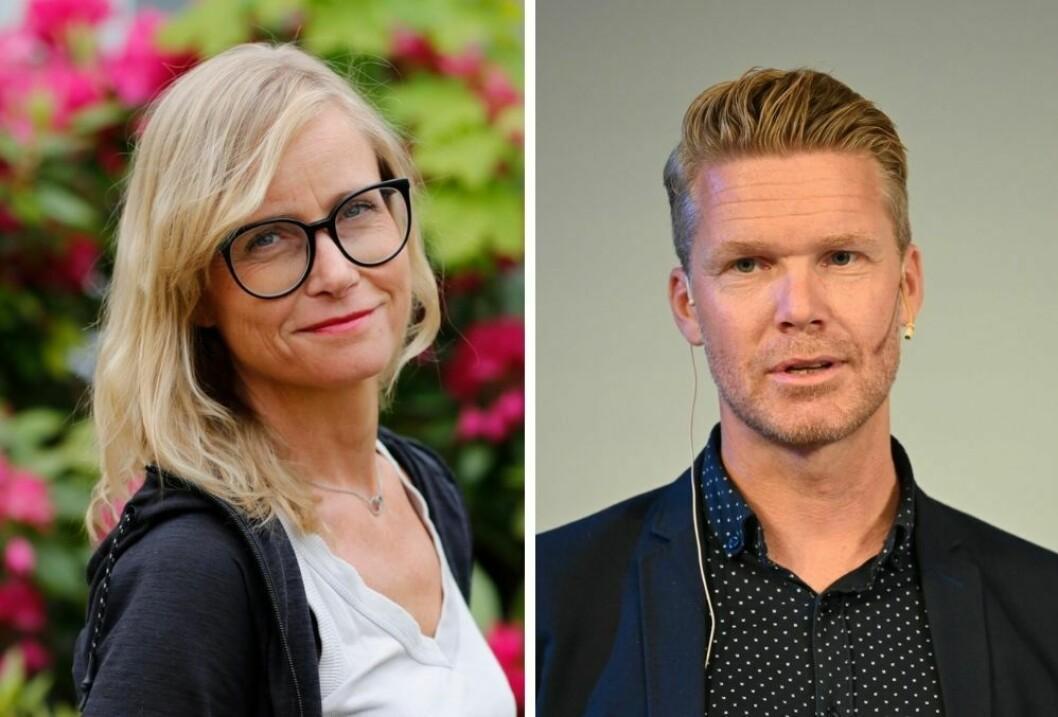 Lajla Ellingsen og Mats Rønning er begge for åpenhet i politiske møter.