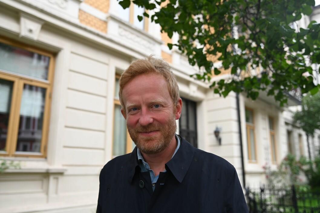 Simen Ekern er ny NRK-korrespondent i Brussel.