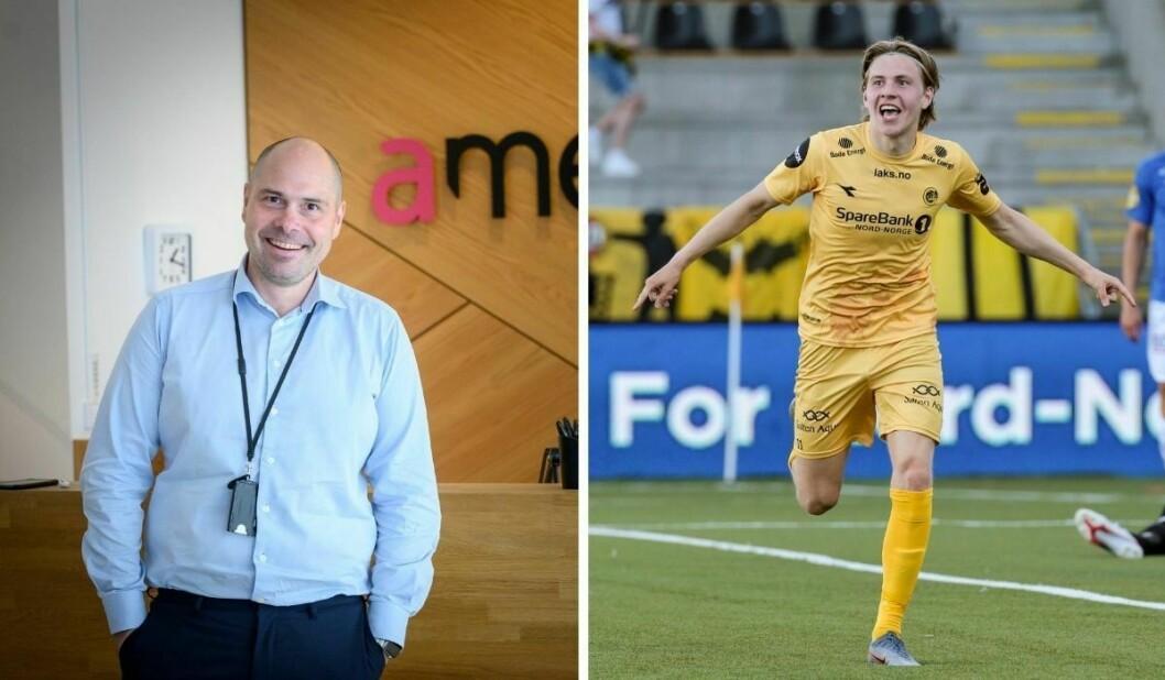 Amedia og påtroppende konsernsjef Anders Opdahl har sikret seg rettigheten til å vise Bodø/Glimts og stjerneskuddet Jens Petter Hauges Europa League-kvalik.
