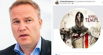 Resett bryter med journalist som brukte profilbilde fra Breiviks påståtte terrorgruppe