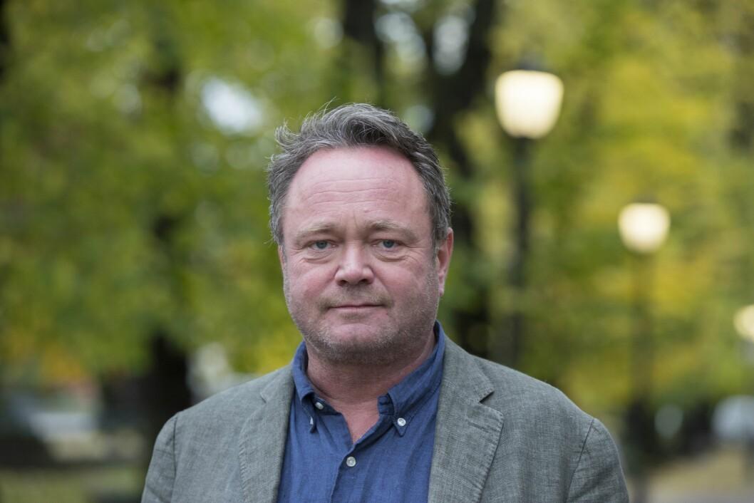 TV 2s USA-korrespondent Fredrik Græsvik.