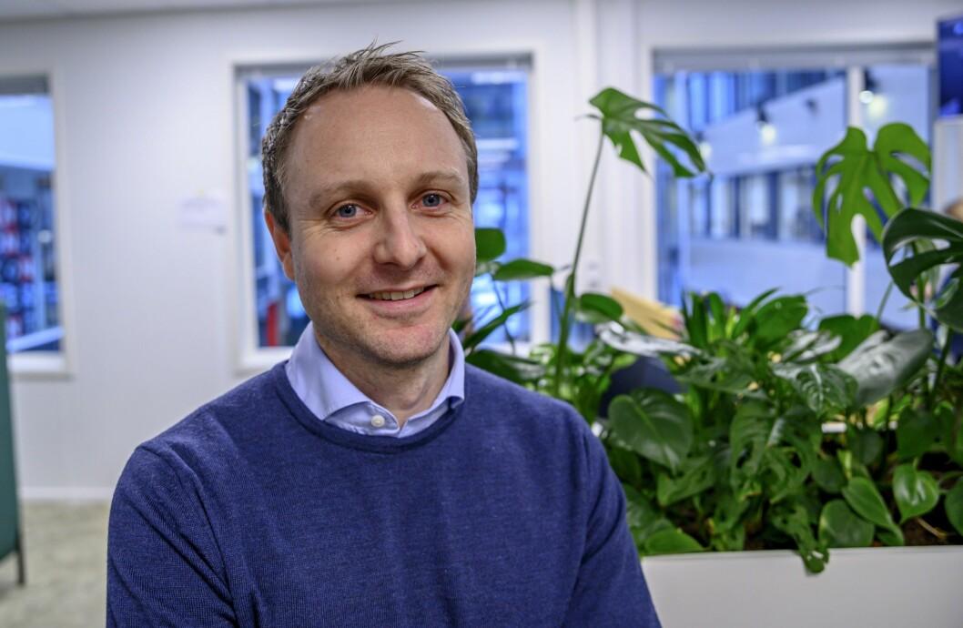 Operativ leder Espen Skoland i Discovery.