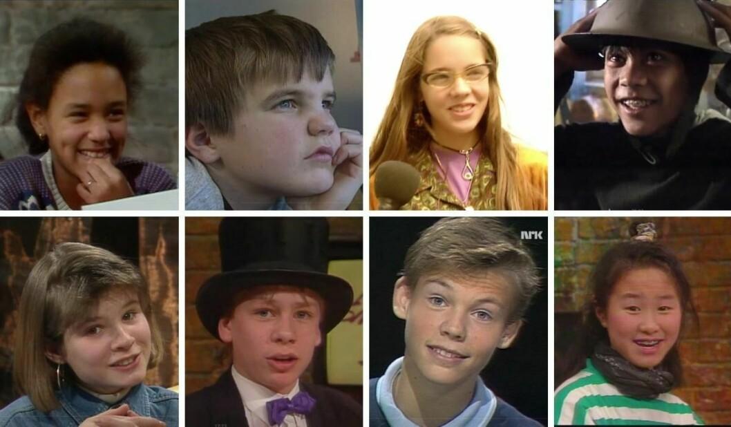 Alle disse åtte Midt i smørøyet-programlederne har senere fått prominente jobber i Presse-Norge. Hvem kjenner du igjen?