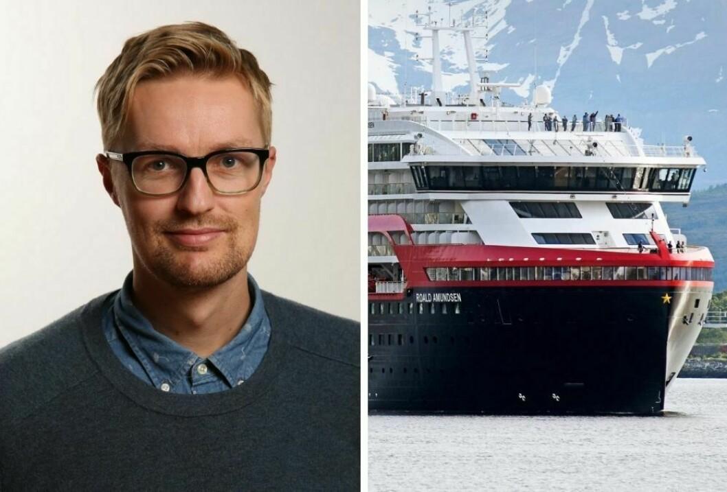 Rune Endresen i avisen Nordlys har mange ubesvarte spørsmål som han mener Hurtigrutens kommunikasjonsavdeling bør svare på.