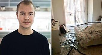VG-journalistens hjem i Beirut ble rasert i fatal eksplosjon: – Det er helt vilt