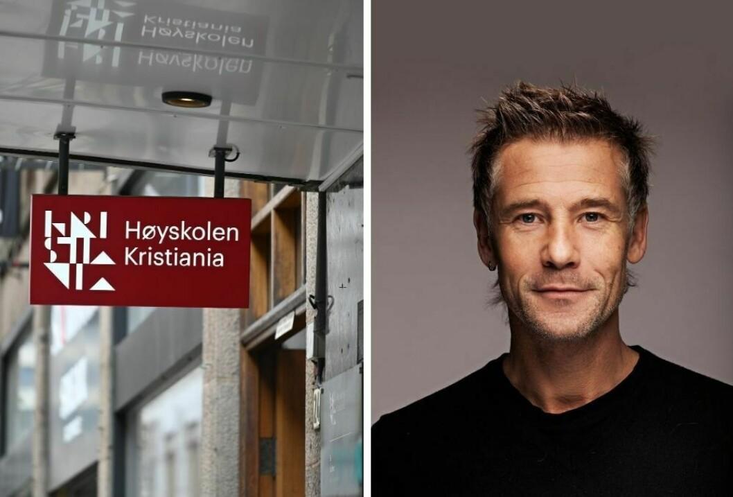 Studieleder Lars Richard Bache  ved Høyskolen Kristiania forteller hvordan årets journalistutdanning blir.