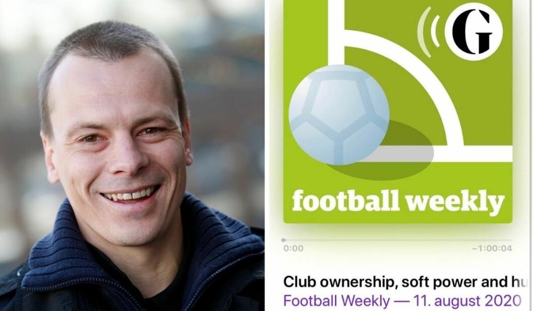 Fotballtidsskriftet Josimar har inngått samarbeid om en podkast med den britiske storavisen The Guardian.