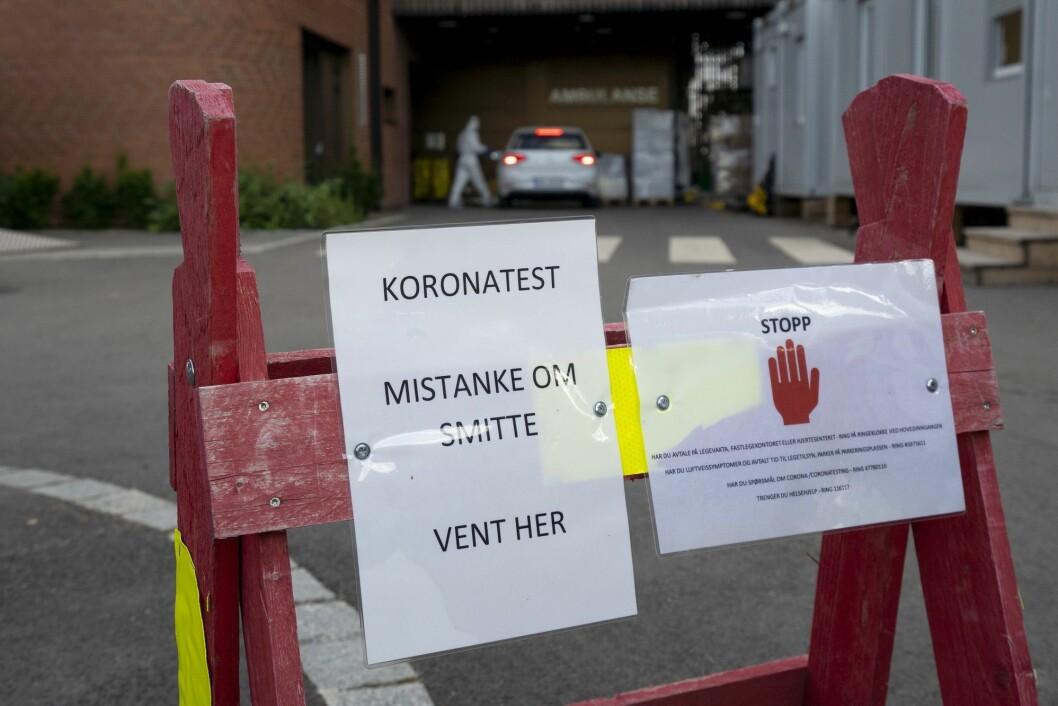 Den siste tiden har det vært stor spredning av koronaviruset i Indre Østfold.