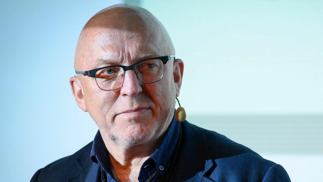 Journalist, presseetiker og forfatter Sven Egil Omdal.