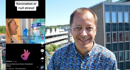 Fredriksstad Blad med suksessdebut på TikTok: – Viktig å være synlig for alle