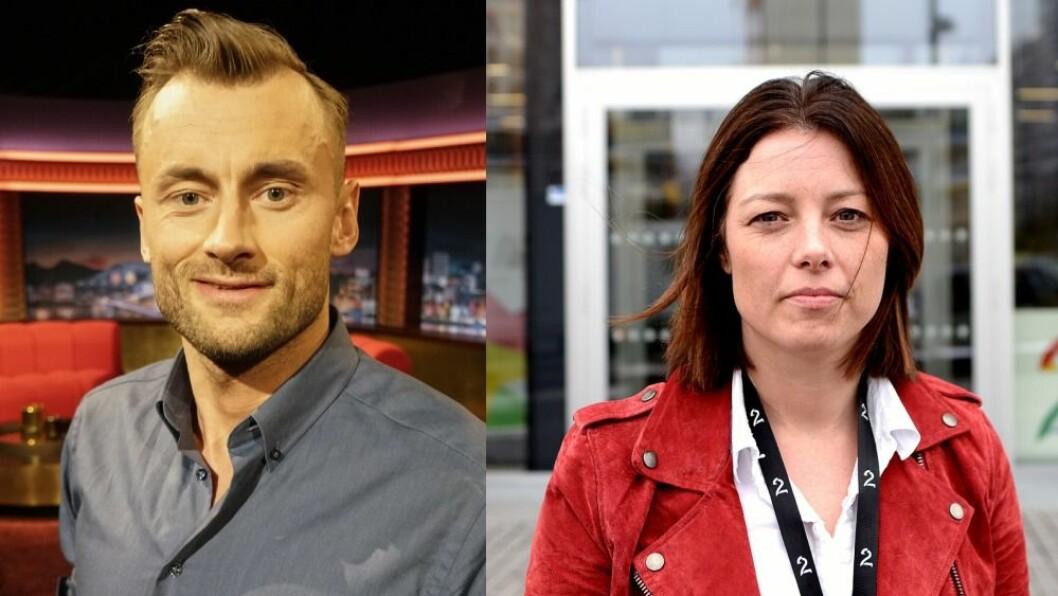 Petter Northug er siktet for overtredelse av veitrafikkloven og for oppbevaring av narkotika. Til høyre: TV 2s Sarah Willand.