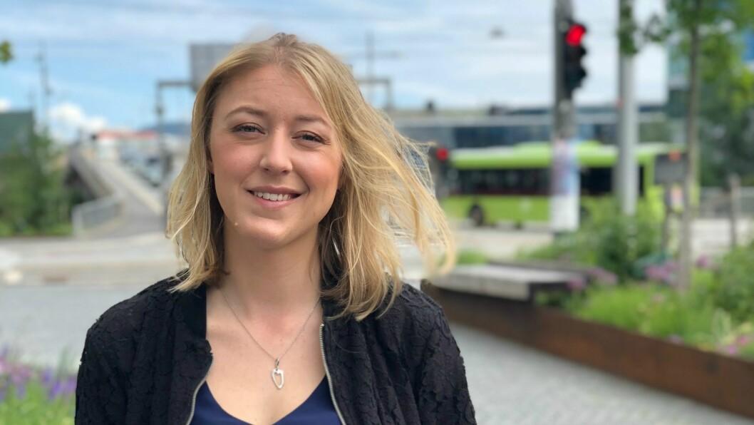 Fotballekspert Mina Finstad Berg i TV 2 blir kanalens nye sportskommentator.