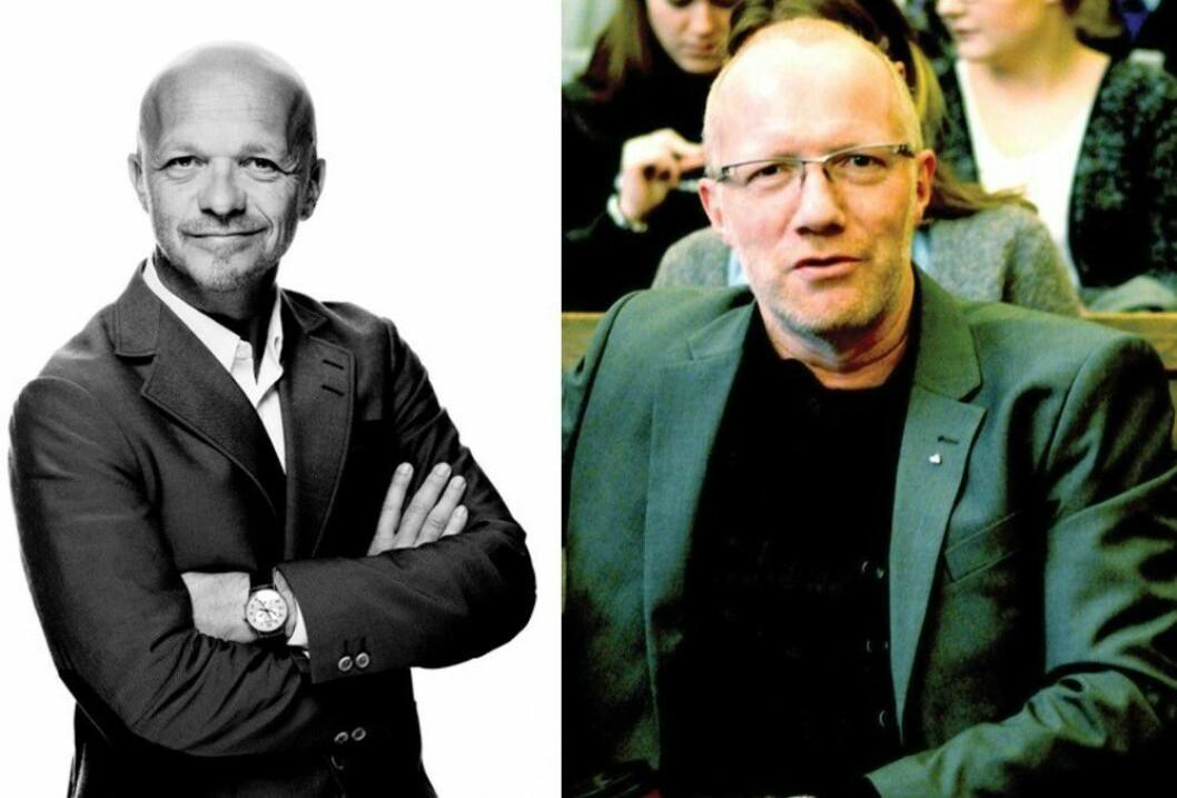 Geir Ove Harnes i GK og Arne Jensen i NR.