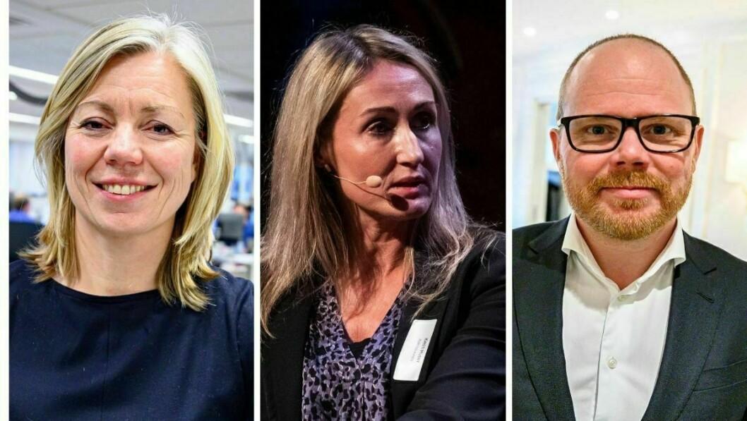 Trine Eilertsen i Aftenposten, Kirstu Husby i Adressa og Gard Steiro i VG ser frem til det nye samarbeidet.