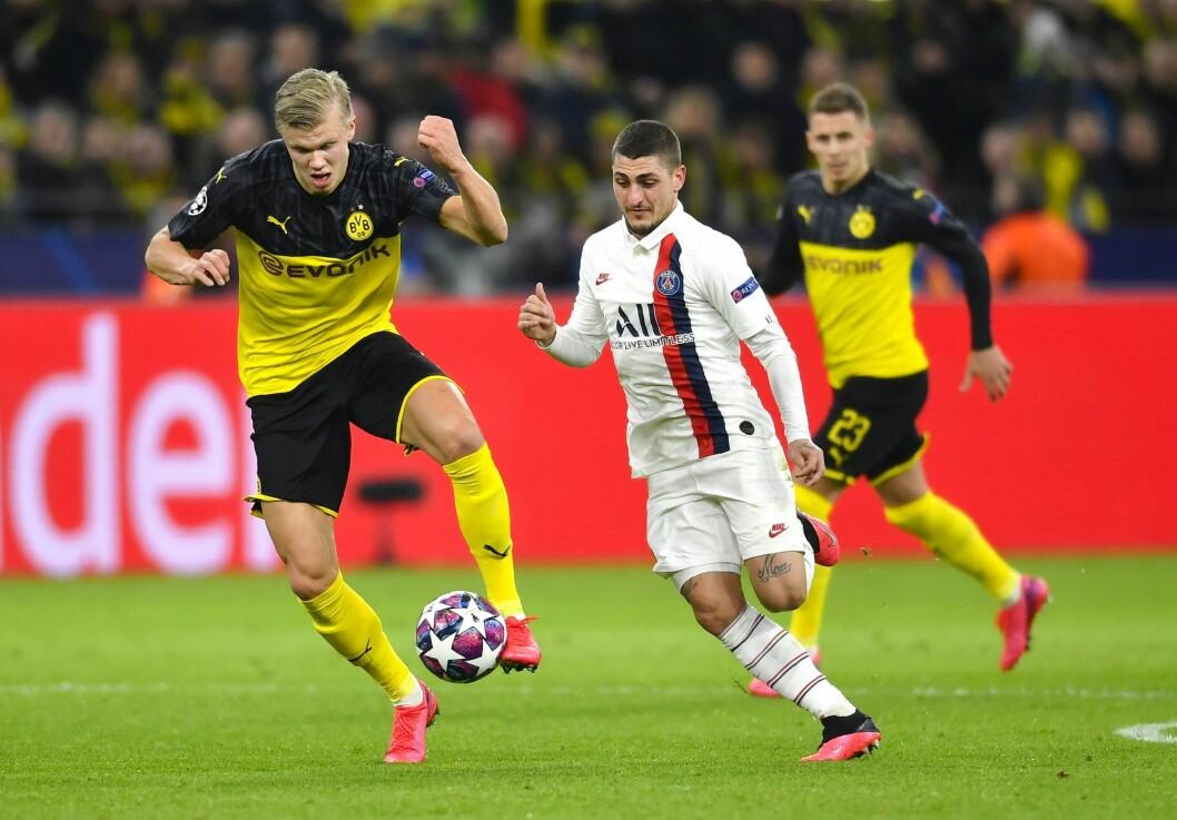 Norske Erling Erling Braut Haaland og hans Borussia Dortmund var et av lagene som ble beseiret av søndagens Champions League -finalist Paris Saint-Germain i år.