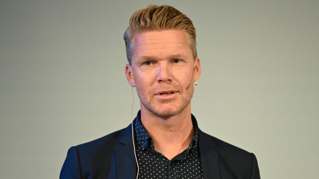 Mats Rønning, Dagbladet-journalist og leder av Stortingets presselosje. Her avbildet under Arendalsuka i 2019.